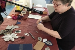 Stamping on Fabric - Pat Findlay